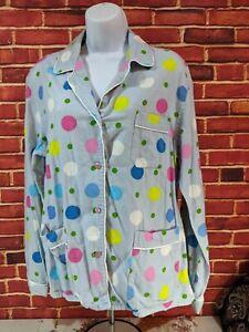 Pink Victoria's Secret, Large, 2 Piece Pajama Set, Multicolor, Polka Dot. B-3