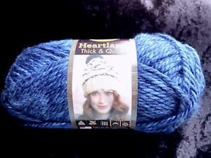 BLUE LION BRAND HEARTLAND THICK & QUICK KNITTING YARN NEW OLYMPIC #109
