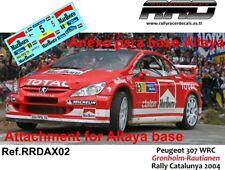 DECAL/CALCA 1/43; ANEXO Peugeot 307 WRC; Gronholm-Rautianen; Rally Catalunya 04