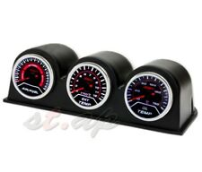 52Mm Air Fuel+Exhaust Gas Temperature+Oil Tempt Gauge+ 3X Port Triple Pod Dash