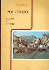 Rachele Talamo, Positano: storia e poesia, Italiano + English, firmato, 1972
