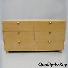 Kent Coffey The Erect-On Cerused Oak Dresser Credenza Mid Century Modern Vintage