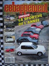ECHAPPEMENT 1988 205 RALLYE / BMW Z1 / HONDA CRX / POLO G 40 / SIERRA COSWORTH