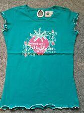 Wimbledon Championnats Original T-Shirt Fille - bleu - taille 8-10 ans