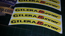 Gilera Runner Rim tape Wheel stickers EXCLUSIVE 50, 125. 172, 180 183 sp vx st C