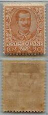 REGNO - 1901 - MH - 20 cent Floreale (72)