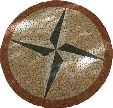 """mosaico in marmo """"""""novita""""2010 ROSONE DIAM.120"""