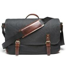 ONA The Union Street Camera and Laptop Messenger Bag, Black #ONA5-003BL