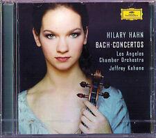 Hilary HAHN: BACH 4 Violin Concerto JEFFREY KAHANE CD Violinkonzerte DG 2003 NEU