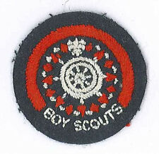 1950's UNITED KINGDOM / BRITISH SCOUTS - ROVER SCOUT SEAMAN'S MINIATURE Badge