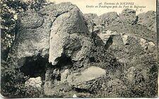 CP 77 Seine-et-Marne - Environs de Souppes - Grotte en Poudingue