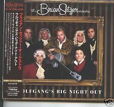 brian setzer - wolgang's big night out japan cd  NEW