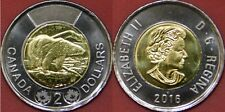 Brilliant Uncirculated 2016 Canada 2 Dollars From Mint's Roll