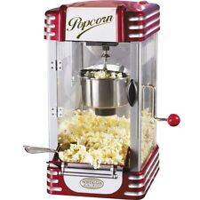 Nostalgia Home 8 Cup Retro Hot Oil Popcorn Machine, Mini Kettle Pop Corn Maker