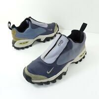 Nike ACG Air Wailuku All Trac Trail Hiking Shoes Vtg 2001 Blue Womens Size 7.5
