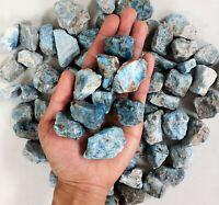 Blue Apatite Stones - Bulk Wholesale Crystal Stones - Raw Crystals Bulk