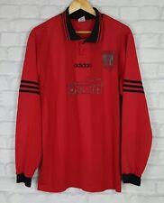 Adidas Vintage trikot Allemagne de l'ouest Maillot maglia football shirt jersey M/L