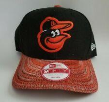 NEW ERA MLB Baltimore Orioles Champs Snapback Cap Black Knit Bill