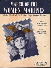 March of the Women Marines 1943
