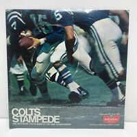 BALTIMORE COLTS STAMPEDE FOOTBALL ORIGINAL1968 RECORD ALBUM NEW SEALED UNOPENED