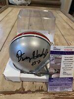 Dwayne Haskins Autographed/Signed Mini Helmet JSA COA Ohio St Buckeyes State A