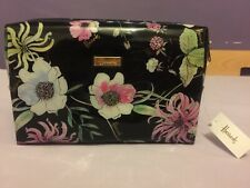Brand New Harrods London Alice Floral Cosmetic Bag / Pencil case /Travel Pouch