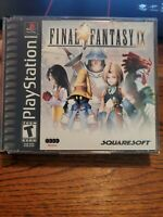Final Fantasy IX Black Label (PlayStation 1, 2000) - NO MANUAL