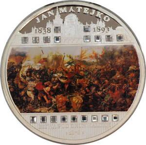 Malawi - 50 MWK - 2009 - Jan Matejko - The Battle of Grunwald - 3 oz Ag 999