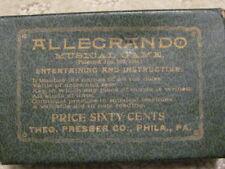 ALLENGRANDO Vintage Educational Musical Card Game