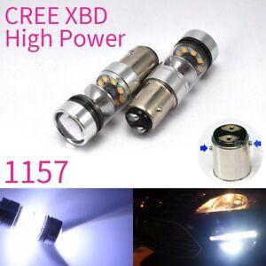 Parking Light White XBD 1157 BAY15D P21/5W CREE LED Bulb For Subaru Isuzu