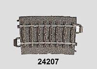 Märklin H0 24207 C-Gleis gebogen R2 = 437,5 mm / 7,5° - NEU