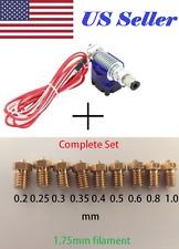 E3D V6 J-head Hotend 1.75mm 0.4mm Extruder w/ Complete set assorted Nozzle kit