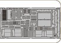 Eduard 1/35 M7 Mid Production extérieur # 36158