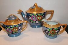 Vintage  T T Hand Painted Rare Takito Made in Japan 21 Pc Tea Set