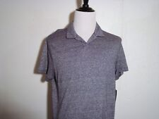 MICHAEL KORS Summer Casual Shirt Atlantic Blue Slim Fit Large NWT MSRP $75.00