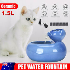 1.5L Dog Water Bottle Dispenser Cat Drinking Fountain Automatic Pet Universal