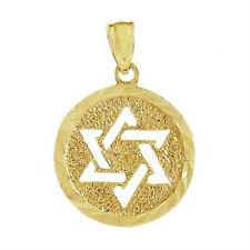 New 14k Gold Star of David Pendant