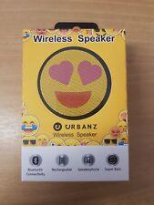 Urbanz Hearts Face Emoji Wireless Speaker
