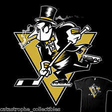 BATMAN The Penguin Oswald Cobblepot GOTHAM Hockey Jersey NEW TEEVILLAIN T-SHIRT