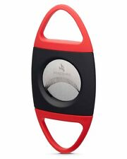 Firebird by Colibri Saber Double Guillotine Serrated 70rg Cigar Cutter Red