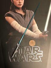 Hot Toys Star Wars TLJ Rey Jedi Training Ver Lightsaber loose 1/6th scale