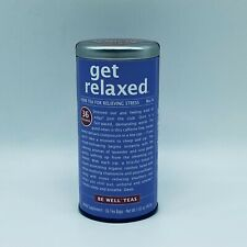 Get Relaxed Tea 36 Tea Bags Herb Tea Relieving Stress Exp 5/22
