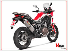 AKRAPOVIC EXHAUST SCARICO TERMINALE HONDA CRF1000L AFRICA TWIN S-H10SO16-WT
