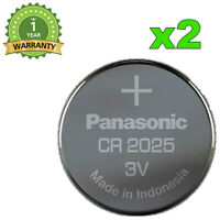 2x NEUF BATTERIE PANASONIC CR2025 PILE 3V CODE DL2025 LITHIUM  CR-2025EL