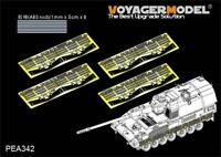 Voyager Modern German PzH2000 Side skirts (For MENG TS-012) PEA342