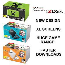 New Nintendo 2DS XL Handheld Game Console + Mario Kart Or Minecraft Preinstalled