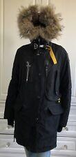 PARAJUMPERS black KODIAK MASTERPIECE wind & waterproof down coat  MEDIUM UK10-12