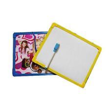 Single Side Erasable Brush Drawing Whiteboard Reminder White Board w/Black Pen