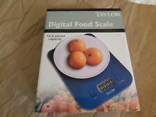 Taylor Digital Food Scale 6.6 pound capacity