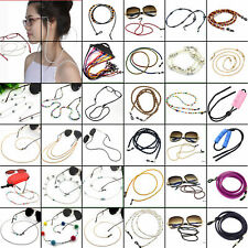 10 Piece Beaded Cord Holder Neck Lanyard Eyeglass Glasses Strap Sunglasses Chain